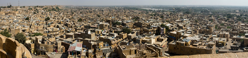 View from Jaisalmer fort   s