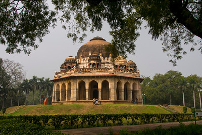 Tomb of Mohammed Shah (Lodhi Garden) built 1444