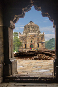 Shisha Gumbad (Lodhi Gardens) Built 1444