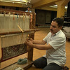 Learning how to make a rug