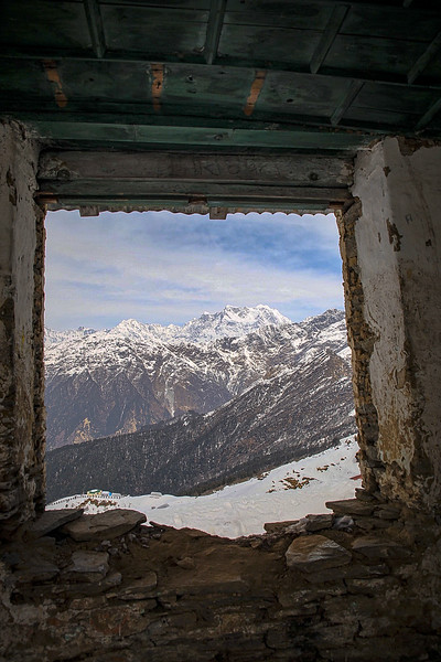 Mountain Hut, Tungnath_HI
