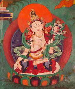 Tara (Female Form) at Tsemo Monastery