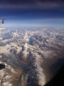 Glaciers in the Zanskar Range