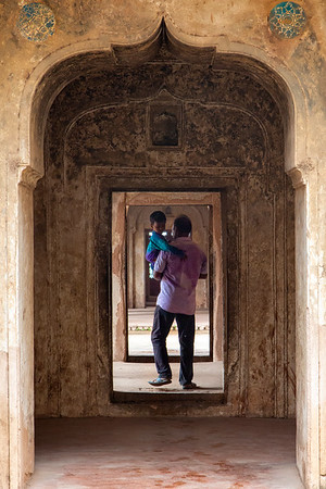Inside Orchha Fort Complex