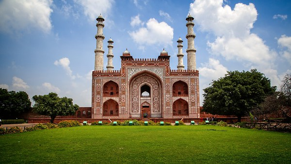 The Tomb of Akbar the Great, Agra