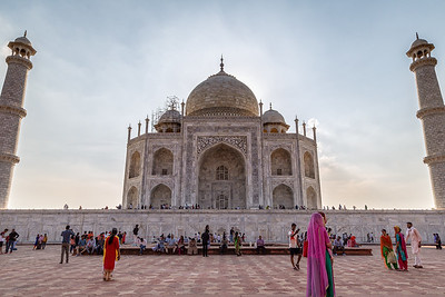 The Taj Mahal Up Close