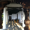 Oakville main house, with new Garhwali columns