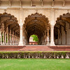 Arches of the Red Fort, Agra