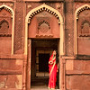 Rani at Red Fort, Agra