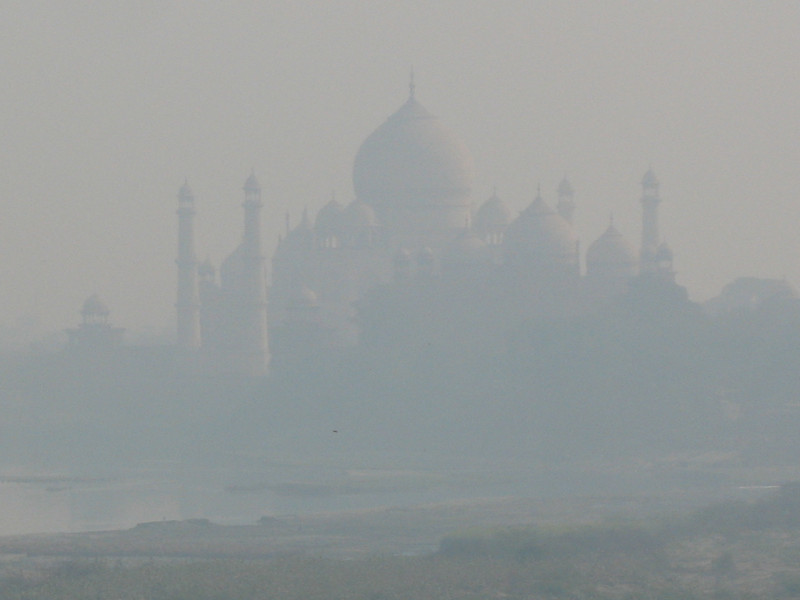 Taj in the Morning Haze