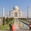 Engagement Photos at the Taj