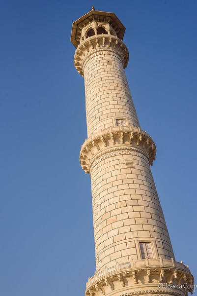 Tower at the Taj Mahal