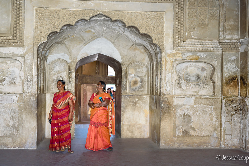 Laughter in the Agra Fort