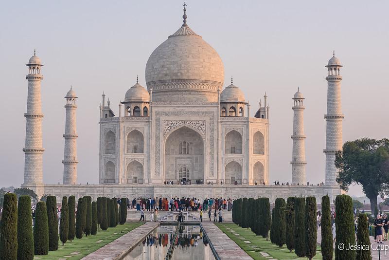 Taj Mahal in the Sunrise Glow