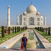 Dressing Up at the Taj Mahal