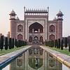 Entrance into the Taj Mahal Complex