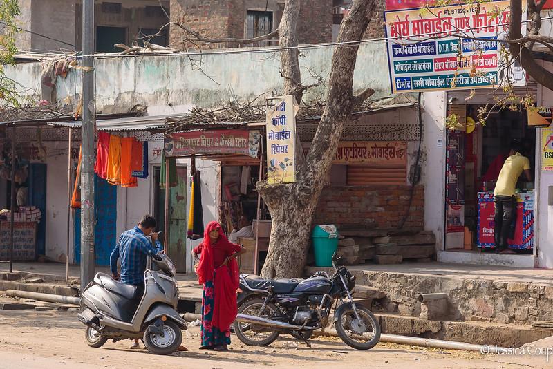 Morning in Agra