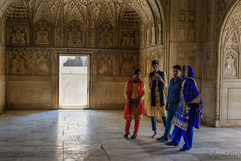 Beauty of Agra Fort