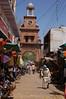 The main bazaar and clocktower