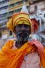A sadhu on the Varanasi ghats