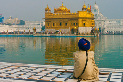 Amritsar Golden Temple in Punjab, India