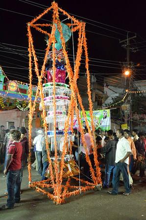 Bonalu festival palaram bandi, Hyderabad