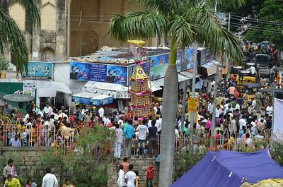 Bonalu festival in Golkonda, Hyderabad
