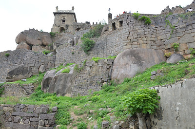 Golkonda, ruined city and fortress in India