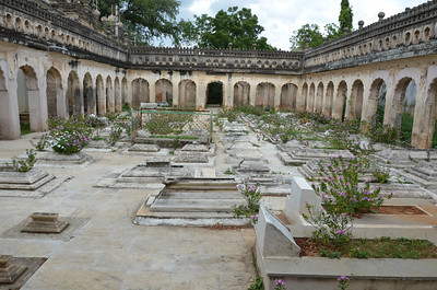 Paigah Tombs or Maqhbara Shums Ul Umra, Hyderabad, India