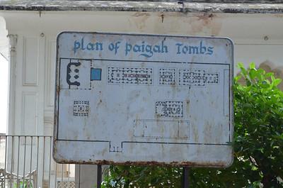 Paigah Tombs or Maqhbara Shums Ul Umra, Hyderabad, India