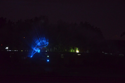 Laser Show At Lumbini Park, Hyderabad