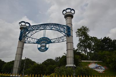 Lumbini Park and Hussain Sagar Lake, Hyderabad