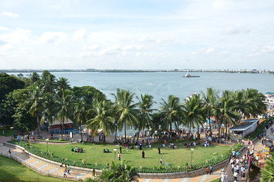 Lumbini Park and Hussain Sagar Lake, Hyderabad