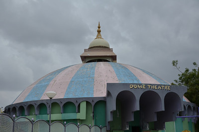 Dome theatre at Ramoji film city Hyderabad India