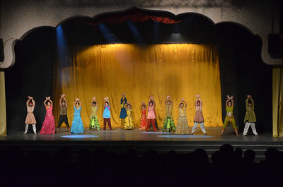 Spirit of Ramoji Show at Alampana Theatre at Ramoji film city Hyderabad India