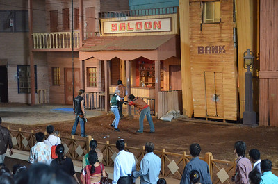 Stunt Show in Ramoji film city Hyderabad India