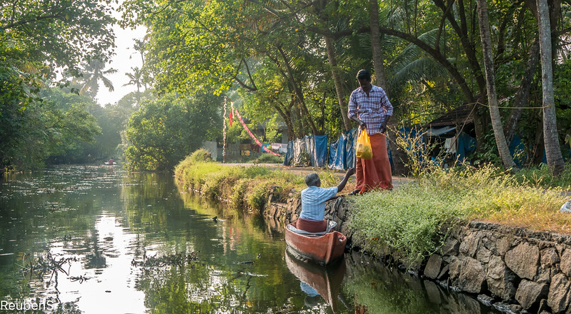 Doing business along the backwater canals