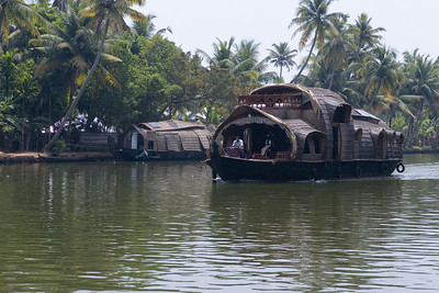 These are rice barges that have been converted to floating hotel rooms. They will usually have a couple of bedrooms and three crew members. VERY relaxing.