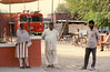 Fire station, Dera, India,  December 1989
