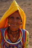 India, Rajasthan, Pushkar: Colourful Rajasthani clothing.