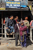 India, West Bengal, Darjeeling: The taxi booth to Pelling.