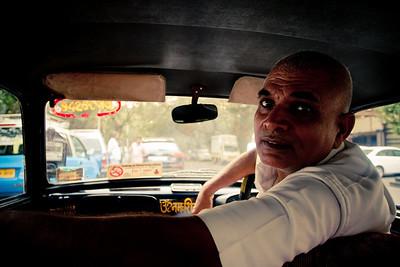 The iconic Mumbai Taxi wallah