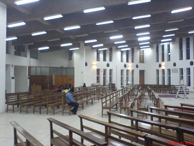 Inside the Church in Christmas, Catholic Church in Chandigarh