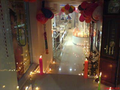 New Year celebration in an exclusive First Citizen showroom in Sector 17, Chandigarh, India