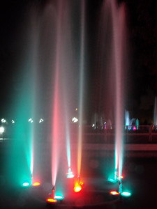 Fountain Photography - Rose Garden, Chandigarh