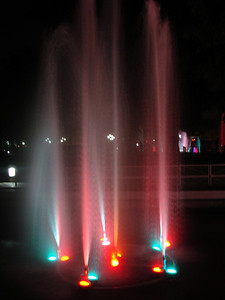 Fountain Photography - Rose Garden, Chandigarh