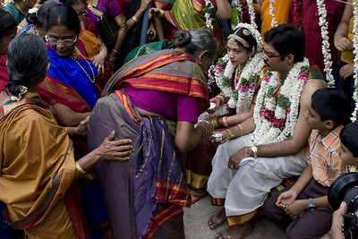 Married women doing some more of the blessings