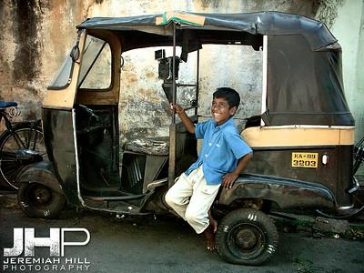 """Rickshaw Dreams"", Mysore, Karnataka, India, 2005 Print INDIA6-303"