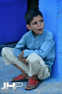 """A Boy And His Blue"", Jodhpur, Rajasthan, India, 2007 Print IND3920-568"