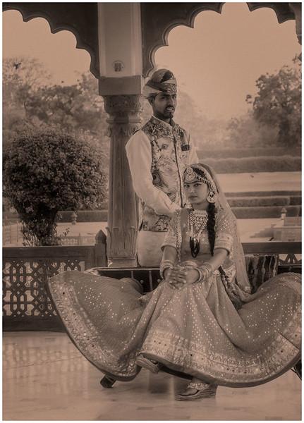 """Maharaja And Maharani"" (Models)"